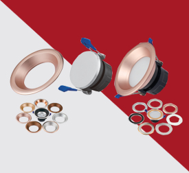 Concealed Light Interchangeable Rings