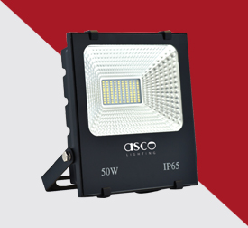 Flood Light With Broad Beam